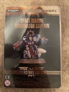 Space Marine Terminator Captain Collectors Edition BNIB Warhammer 40k