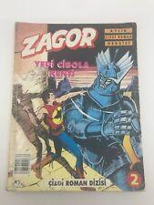 ZAGOR #2 - Foreign Comic Book - 1990s 90s - ULTRA RARE - WILDING - 4.0 VG
