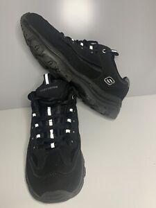 Skechers Icon Dlite Ladies Trainers Black Size Uk 6