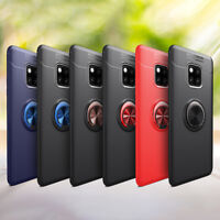 For Huawei Mate9 10 20 Lite Pro 360º Magnetic Ring Holder TPU Case Cover