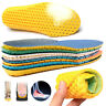 1xUnisex Stretch Breathable Absorbent Deodorant Insole Sports Cushioning Insoles