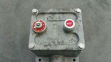 ROBERTSHAW VIBRASWITCH 365-A8 365 a8 365a8 vibra switch explosion proof