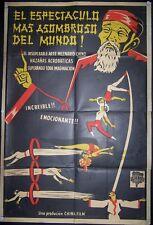 CHINESE CIRCUS FILM, El Espectáculo Mas Asombroso del Mundo, Circa1960, #10275