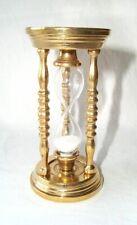 Reloj de Arena, Glasenuhr, Reloj de Arena, Cinco Minutos Glasenuhr, Latón Pulido