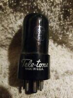 VINTAGE TELE-TONE ELECTRON VACUUM TUBE 6SN7GT USA