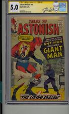 TALES TO ASTONISH #49 CGC 5.0 SS SIGNED STAN LEE ANT-MAN BECOMES GIANT MAN