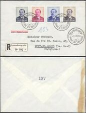 Luxembourg 1950 - FDC Cover Caritas D30