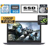 "Dell Gaming G3 17.3"" FHD Intel Core i5-8300H / 6GB GTX 1060/ 1TB +128GB SSD/ 8GB"