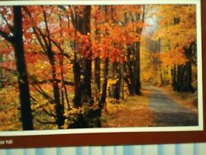 AMAZING PHOTO POST CARD SCENE FROM SUGAR HILL WHITE MOUNTAINS NEW HAMPSHIRE.