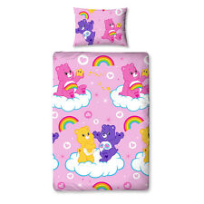Die Glücksbärchis Bettwäsche Share 135x200 Bettgarnitur Kids Set Care Bears neu