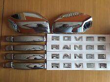 Chrome pack set for range rover sport 2005-2009 poignées miroir lettrage