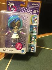 NRFB~MY LITTLE PONY EQUESTRIA GIRLS MINI POSEABLE DJ PON-3  FIGURE !! Cool 😎