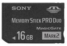 Sony 16gb Mark 2 Memory Stick MS Card Ms-mt16gb Pro Duo High Speed PSP Camera