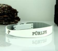 Authentic Pur life Negative Ion Bracelet EXCEL white gray Purlife BALANCE