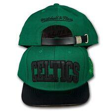 ORIGINALE Mitchell   Ness Boston Celtics Strapback Cap NBA Woolf eu118 VERDE d3fdc565d9ec