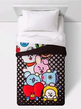 Bts Bt21 Line Friends Comforter (Twin Size)