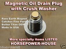 12mm MAGNETIC OIL PAN DRAIN PLUG 02-07 HONDA CB900F HORNET NAKED 900 CB1000R ++