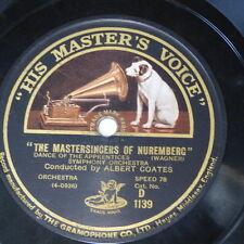 "78rpm 12"" ALBERT COATES - WAGNER dance of apprentices / tannhauser overture pt.3"