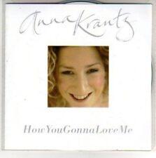 (H75) Anna Krantz, How You Gonna Love Me - DJ CD