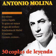 ANTONIO MOLINA - 25 COPLAS DE LEYENDA (NEW CD)