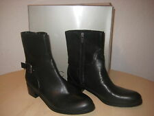 Marc Fisher Shoes Size 8 M Womens New Trist2 Black Mid Calf Fashion  Boots