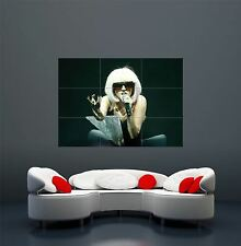 Lady gaga chanteuse auteur-compositeur fashion icon giant poster print X1729