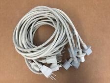 LOT OF 5 Apple/Volex APC13G PS204 E62405SP iMac PowerMac Power Cord 6' UN Tested