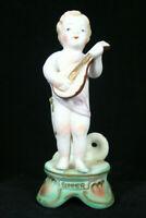 Vintage Hal-Sey Fifth Japan Bisque Cherub Bud Vase Figurine Summer