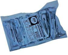"""25 Pack Quick Screw 5"""" inch Aluminum Hidden Rain Gutter Bracket Hook Clip Sty."""