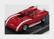 Abarth 2000 Spider Prototipo Se021 1971 Red White EDICOLA 1:43 ABACOL022