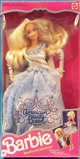 1991 Mattel American BEAUTY QUEEN Barbie Doll - 3 Looks - #3137 NEW & NRFB