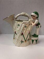 Lenox Holiday ToyShop Elf French Horn Pitcher Santas Holiday Work Shop Christmas