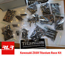 Kawasaki ZX6R  2012-15 Full Race Titanium bolt kit