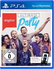 Playstation 4 Singstar Ultimate Party Neuwertig