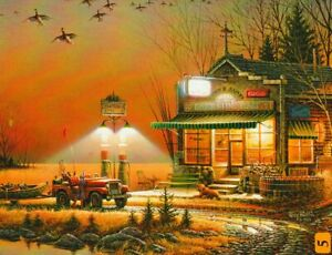 """Terry Redlin """"WELCOME TO PARADISE"""" Ducks 300 Pieces BOXLESS Jigsaw Puzzle *NEW*"""