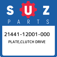 21441-12D01-000 Suzuki Plate,clutch drive 2144112D01000, New Genuine OEM Part
