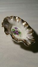 Shafford China Handpainted leaf dish Spoon Rest