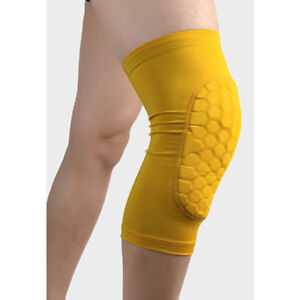 Men Basketball Knee Pads Sports Running Leg Sleeves Compression Brace Support