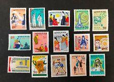 South Korea #558-563,586-594 1967 MH