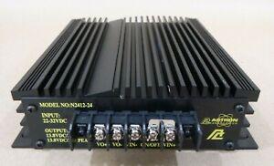 ASTRON N2412-24 VOLTAGE CONVERTER - INPUT: 22-32VDC - OUTPUT: 13.8VDC/20A/24A