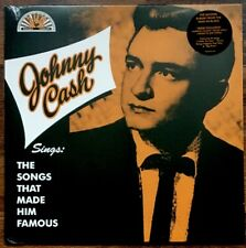 Johnny Cash - Sings Songs Made Him Famous LP [Vinyl New] Indie Lt Yellow Sunrise