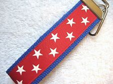 PATRIOTIC STARS Key Fobs (really cute keychains)