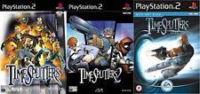 timesplitters & timesplitters 2 & time splitters future perfect   PS2 PAL