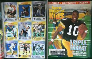 Sports Illustrated For Kids-Sep, 1996-Kordell Slash Stewart Cover & Uncut Cards!