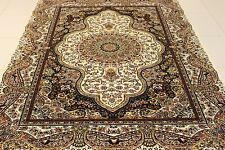 Large Traditional Persian Kashan Area Rug Carpet Superb Quality 150 x 225 cm New