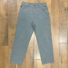 LAUREN JEANS CO RALPH LAUREN Gray Jeans Stretch Denim Womens Size 10 Waist 30""