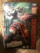 Transformers WFC Earthrise Deluxe WFC-E31 Ironhide & Prowl IN HAND New Fast Ship