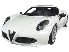ALFA ROMEO 4C PEARL WHITE 1/18 MODEL CAR BY AUTOART 70188