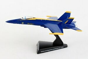 Postage Stamp PS5338-1 McDonnell Douglas F/A-18 Hornet Blue Angels 1/150 Scale