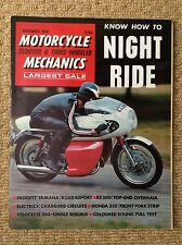 MOTORCYCLE & SCOOTER Mag PADGETT YAMAHA TRIUMPH TRIDENT BSA ROCKET ROYAL ENFIELD